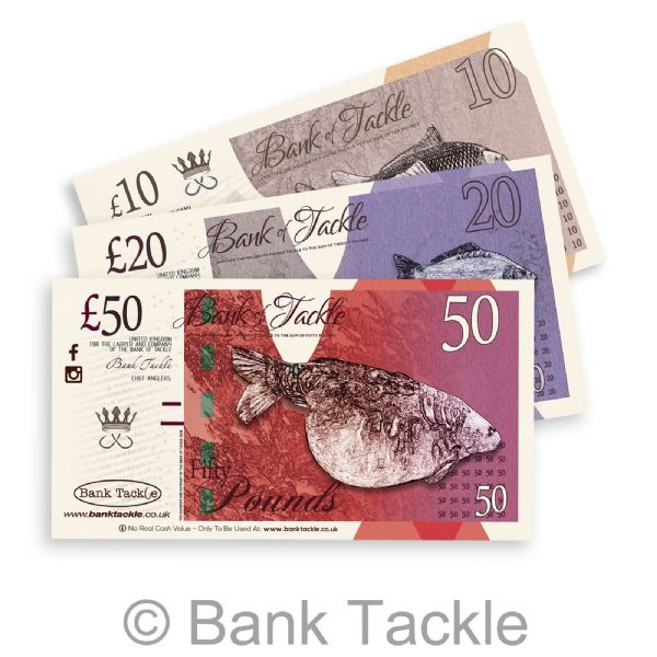 Gift Vouchers. Carp Tackle